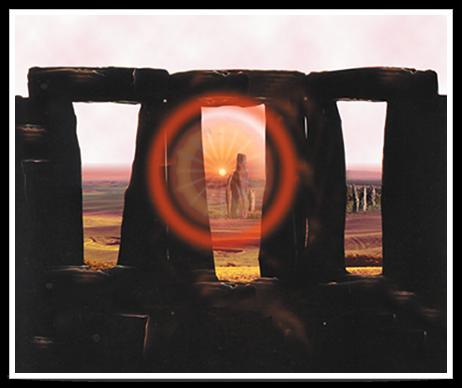 Alignement de menhirs à Stonehedge.