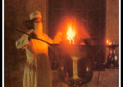 Prêtre zoroastrien.